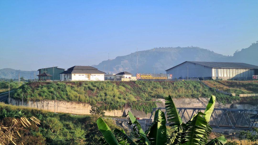 Terowongan Air Nanjung yang diharapkan mampu mengurangi area banjir di sekitar Bandung.