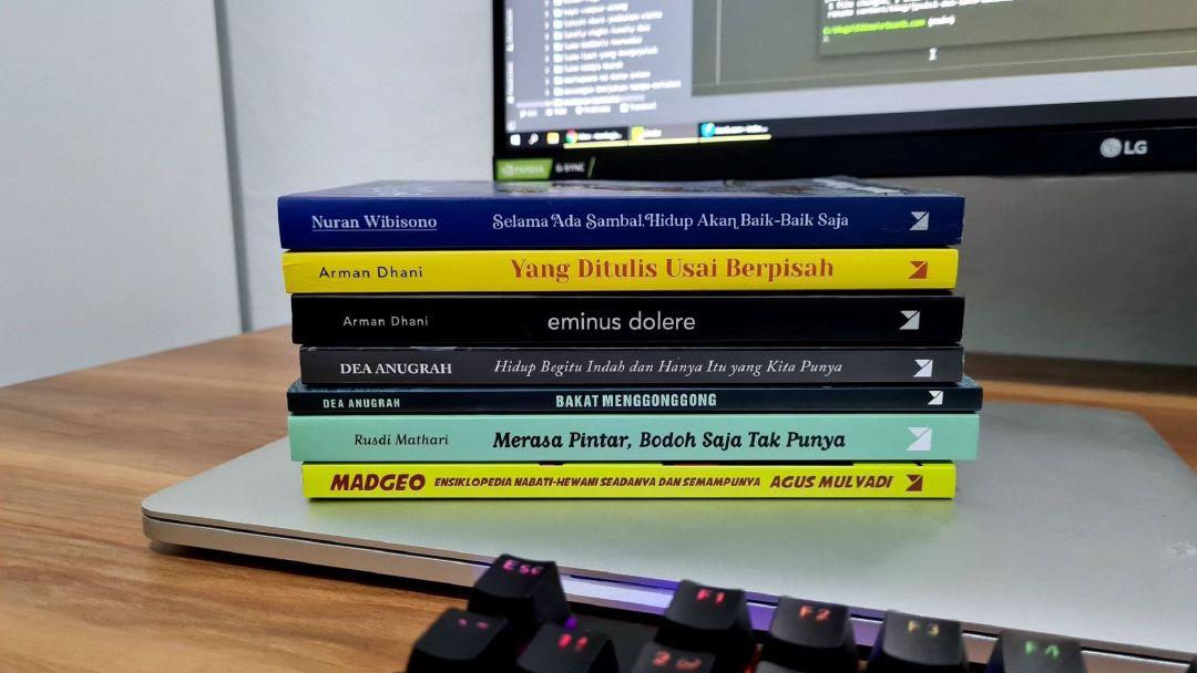 Tujuh buku yang saya baca.